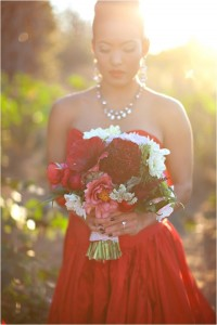 Le Magnifique: Romantic Gold & Red Styled Wedding by Tonya Joy Photography