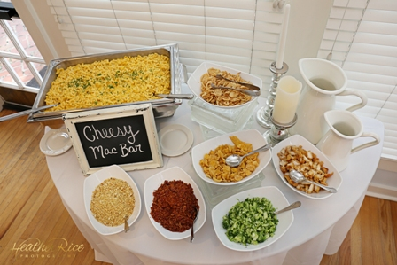 Not your Average Wedding Dinner {Food Stations}   Big City Catering